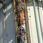 Equipamentos para resgate em espaço confinado